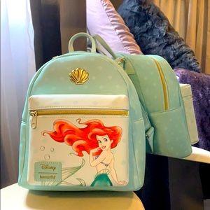 Disney Princess Ariel mini backpack loungefly
